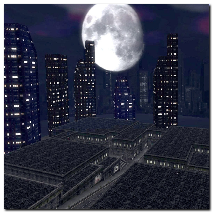 buildings of Second Life